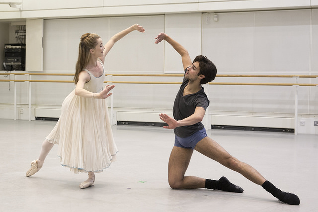 Rehearsals for The Nutcracker