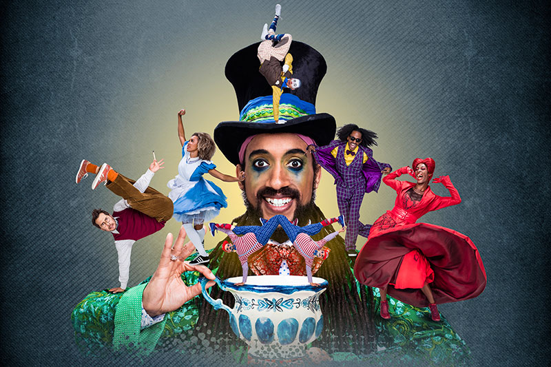 The Mad Hatter's Tea Party live streamed for free